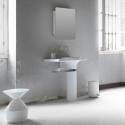 Vase espejo baño
